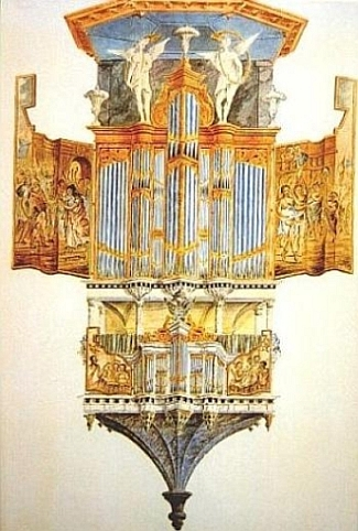 her roose orgel in middelburg